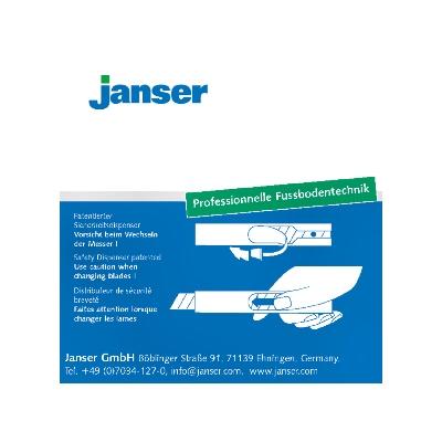Lame fragmentate Janser, pentru cuttere