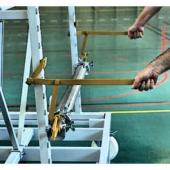 Dispozitiv de poziționare a tuburilor